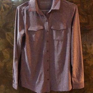 Eddie Bauer button down stretch shirt size M